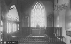 Great Mitton, The Church Interior c.1960