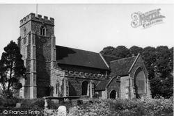 Great Sampford, St Michael's Church c.1955