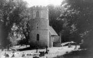 Great Shefford, St Mary's Church c.1960