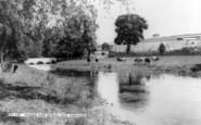 Great Shefford, Stream And Bridge, East Shefford c.1960