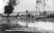 Great Shefford, Stream And House, East Shefford c.1960