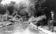 Great Shefford, The Stream c.1960
