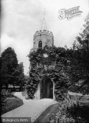 Church Of St Mary The Virgin 1914, Great Shelford