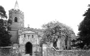 Great Shelford, Church of St Mary the Virgin c1955