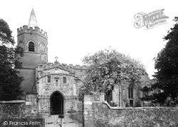 Church Of St Mary The Virgin c.1955, Great Shelford