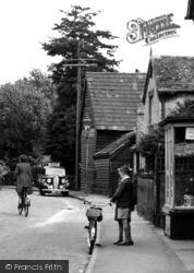 Two Boys Talking On Woollards Lane c.1955, Great Shelford