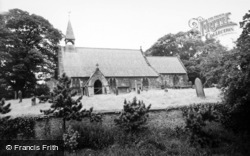 Great Smeaton, St Eloy's Church c.1955