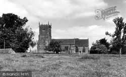 Great Somerford, The Church Of St Peter And St Paul c.1955
