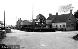 Great Somerford, The Cross Roads c.1955