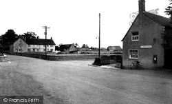 Great Somerford, The Cross Roads c.1960