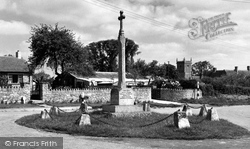 Great Somerford, The Memorial c.1955