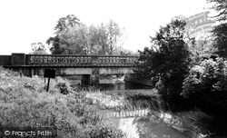 Great Somerford, The River Bridge c.1960