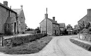 Great Somerford, the School and Village c1955