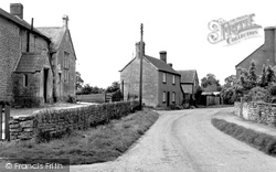 Great Somerford, The School And Village c.1955
