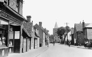 Great Wakering, High Street and Church 1951