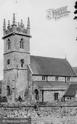 Great Wishford, Church Of St Giles c.1955