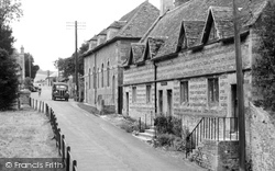 Great Wishford, Grobham Almshouses And School c.1955