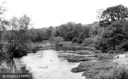 Great Wishford, The River Wylye c.1955