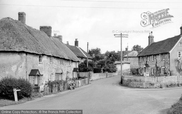 Photo of Great Wishford, the Village c1955