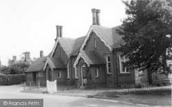 The Village Hall c.1960, Great Witley