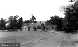 The Village School c.1960, Great Witley