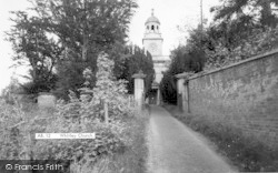 Witley Church c.1955, Great Witley
