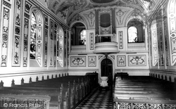 Witley Court Church Interior c.1965, Great Witley