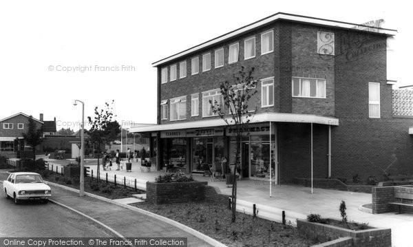 Photo of Great Wyrley, Shopping Precinct c.1965