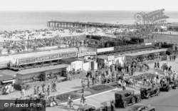 Bathing Pool And Jetty c.1955, Great Yarmouth