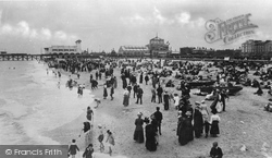 Great Yarmouth, Beach South Of Jetty c.1910