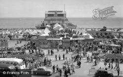 Britannia Pier And Promenade c.1960, Great Yarmouth