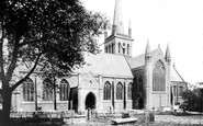 Great Yarmouth, Church of St Nicholas, south side 1887