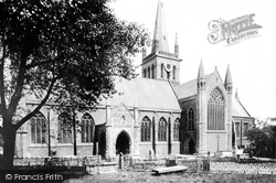 Church Of St Nicholas, South Side 1887, Great Yarmouth
