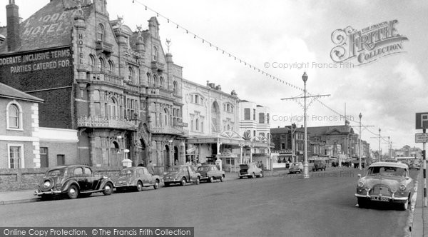 Great Yarmouth, Goode Hotel c.1955