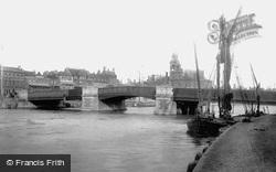 Haven Bridge 1896, Great Yarmouth