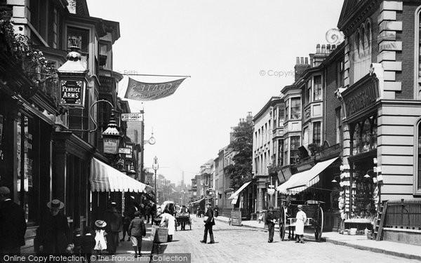 Great Yarmouth, King Street 1896