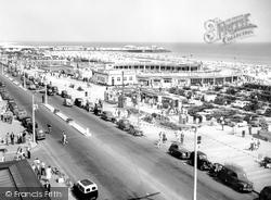 Marine Parade And Marina c.1957, Great Yarmouth