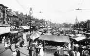 Great Yarmouth, Market Place 1908