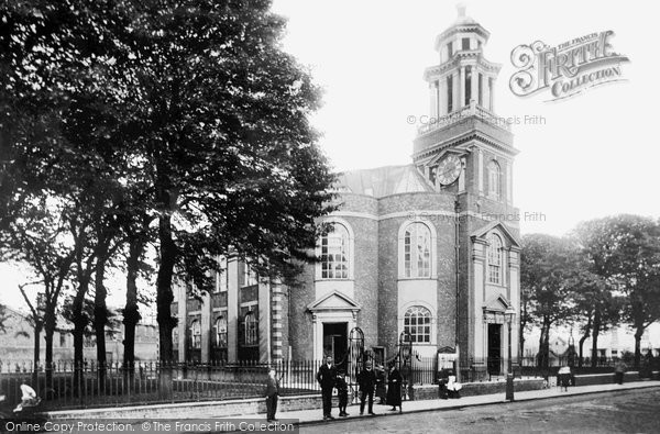 Photo of Great Yarmouth, St George's Church 1891