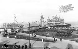 The Amusement Park, Britannia Pier 1908, Great Yarmouth