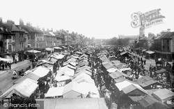 The Market 1891, Great Yarmouth