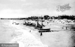The Sands From Britannia Pier 1887, Great Yarmouth