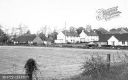 Great Yeldham, Church Fields c.1960