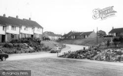 Great Yeldham, General View c.1960