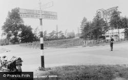 Cross Roads c.1955, Green Street Green