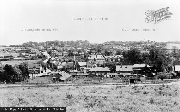 Photo of Green Street Green, From The Hill c.1955