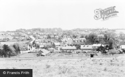 From The Hill c.1955, Green Street Green
