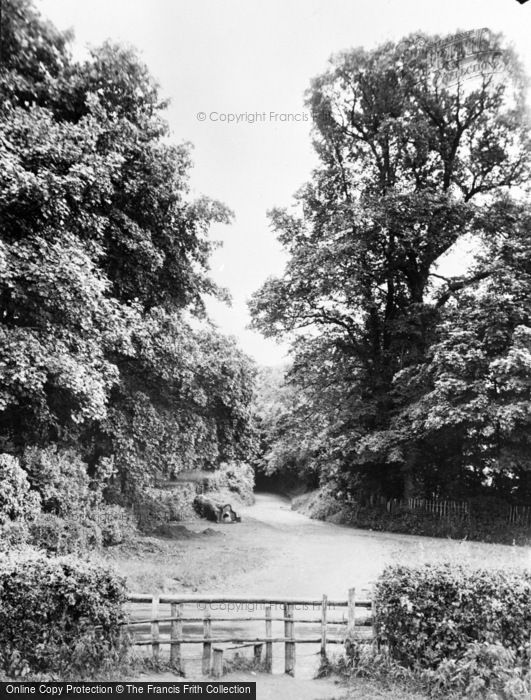 Photo of Green Street Green, Roman Road c.1955