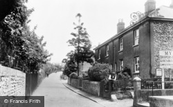 Worlds End Lane c.1955, Green Street Green