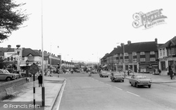Greenford, Crossroads c.1965